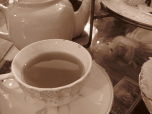 Earl Grey in sepia...