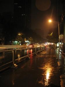 Shanghai Road night scenery...