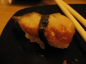 Unagi sushi!