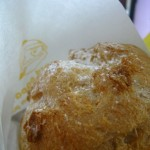 beard papa's cream puff!