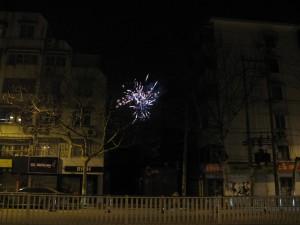 At last! Fireworks!